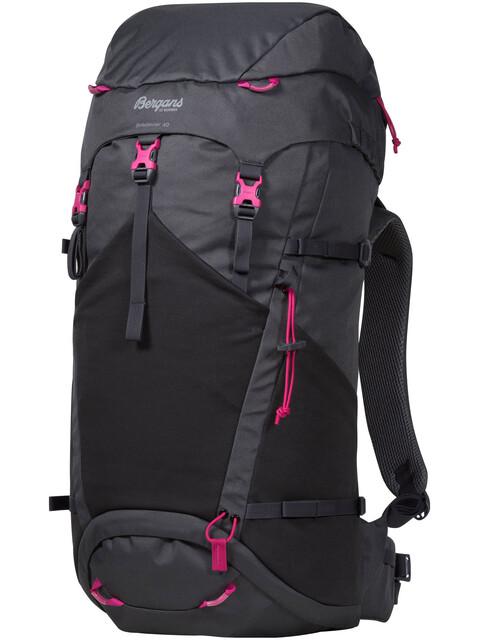 Bergans Birkebeiner 40 Backpack SolidDkGrey/SolidCharcoal/Hot Pink